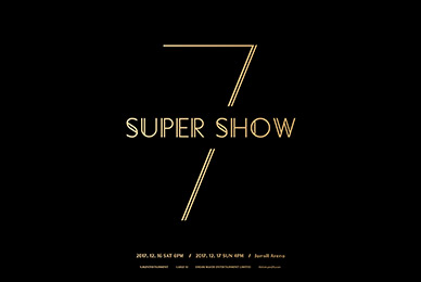 K-POP Legend SUPER JUNIOR, Concert 'SUPER SHOW7' 21 days Ticket booking starts!